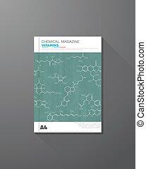 chimique, couverture livre