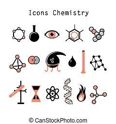 chimique, ensemble, éléments