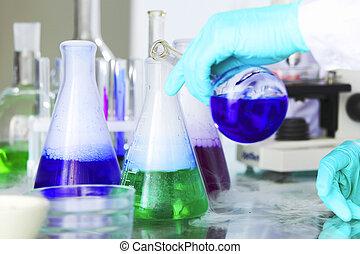 chimique, expérience