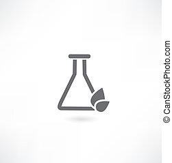 chimique, icône