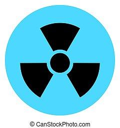 chimique, symbole, isolé