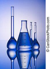 chimique, tuyauterie, gradient, fond