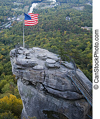 Chimney Rock in NC