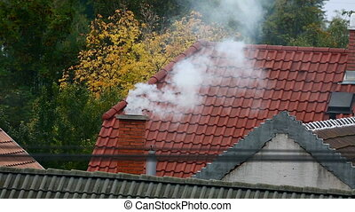 Chimney - Smoking chimney