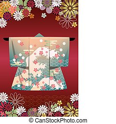 chimono, giapponese