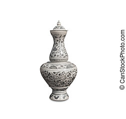 chinês, antigüidade, vaso