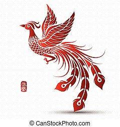 chinês, phoenix