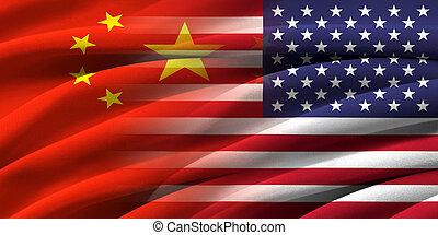 china., アメリカ