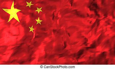 china., 旗