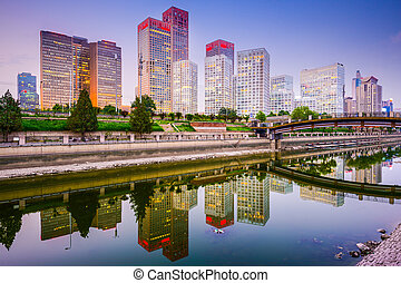 china, beijing, cbd