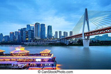 China Chongqing City Lights