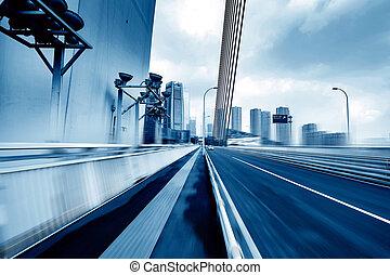 China Chongqing dimensional traffic - Modern bridge traffic...
