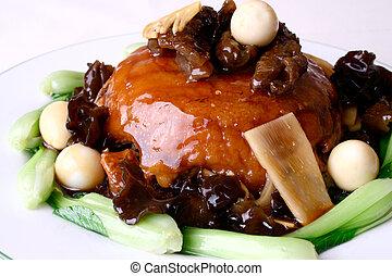 china delicious food-- sea slug fried rice - food in china--...