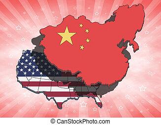 china, estados unidos de américa, el eclipsar