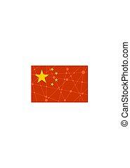 China flag concept