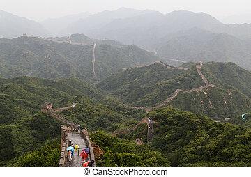china, gran pared, beijing
