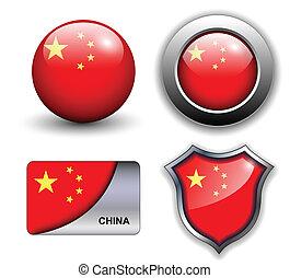 china, iconos