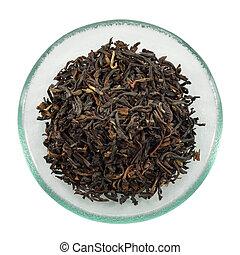 china, indio, teas., mezcla, negro