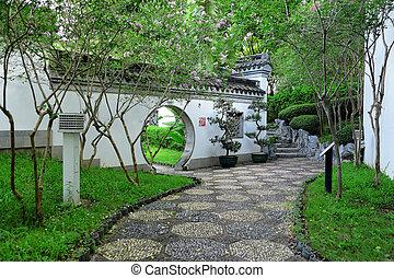 china, jardim