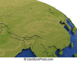 China on Earth