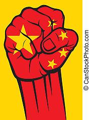 china, puño