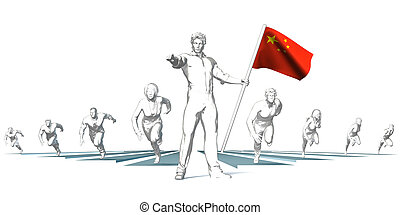 China Racing to the Future