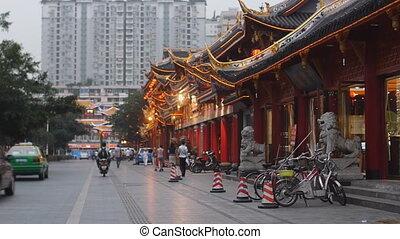 china, straat