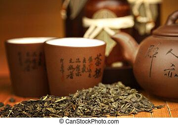 china, té