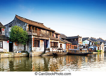 China town - Xitang ancient town , Xitang is first batch of ...