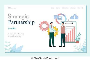 china, vector, vennootschap, zakelijk, strategisch