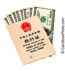china, viaje, república, permit., pueblos