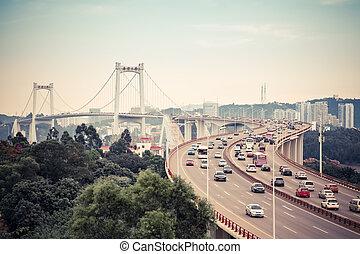 china xiamen haicang bridge