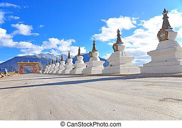 China. Yunnan. Shangri-La region. Dequin, called Shangri-La....