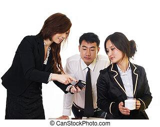 china, zakenlui