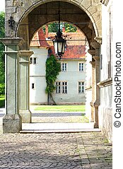 Chinadievsky castle of Schonborn