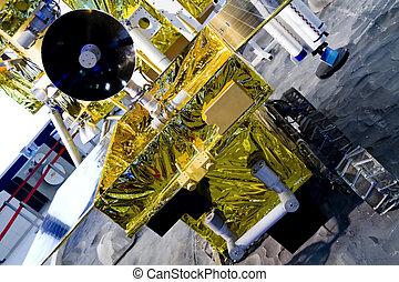 Lunar rover - China's lunar probe, Lunar rover