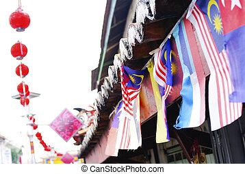 Chinatown,  melacca, マレーシア