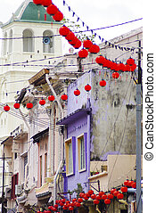 Chinatown,  melacca, Malásia