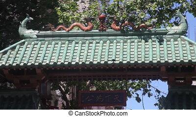 chinatown, san, portail, francisco