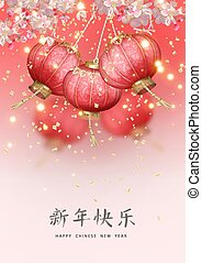 chinees, jaar, nieuw