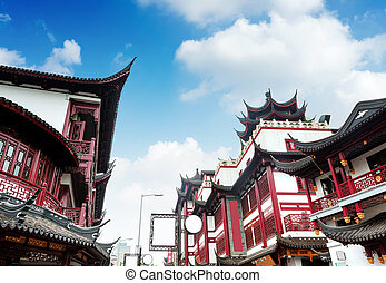 chinees, oud, architectuur