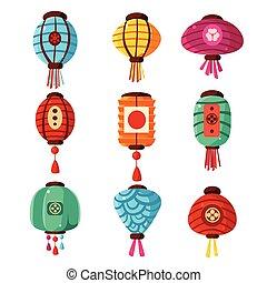Chineese Lanters Decoration Set - Chineese Lanters...