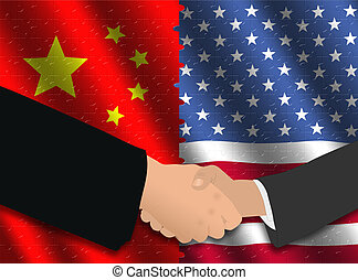 Chinese American meeting