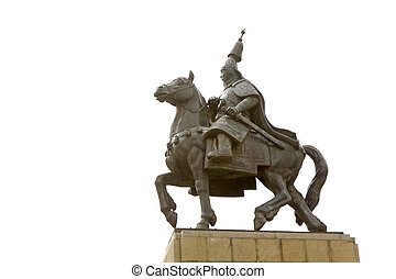 Chinese ancient knight sculpture