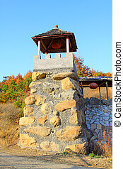 Chinese ancient stone building