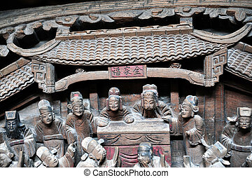 Chinese artistic carving