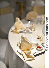 Chinese banquet wedding table