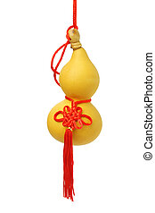 Chinese bottle gourd ornament - Chinese New Year bottle...