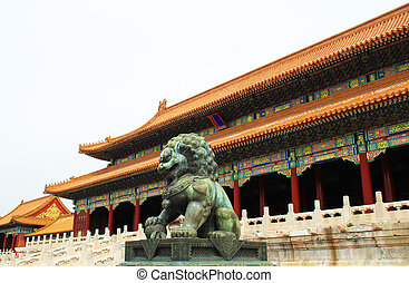Chinese building.