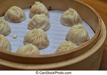 Chinese Buns - Chinese buns are ready to serve.